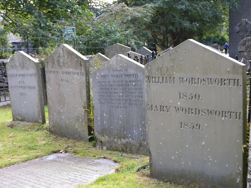 02-Central-Wordsworth graves, Grasmere